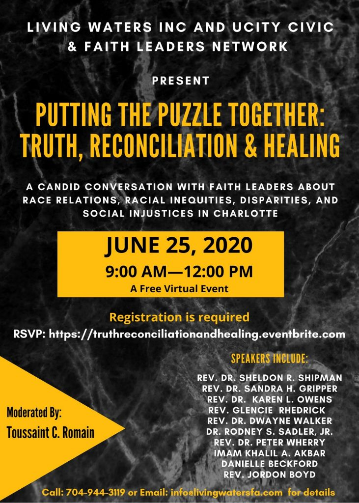 Putting the Puzzle Together: Truth, Reconciliation and Healing