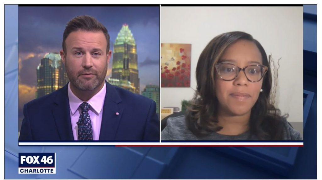 Dr. Sonyia Richardson's interview on Fox 46
