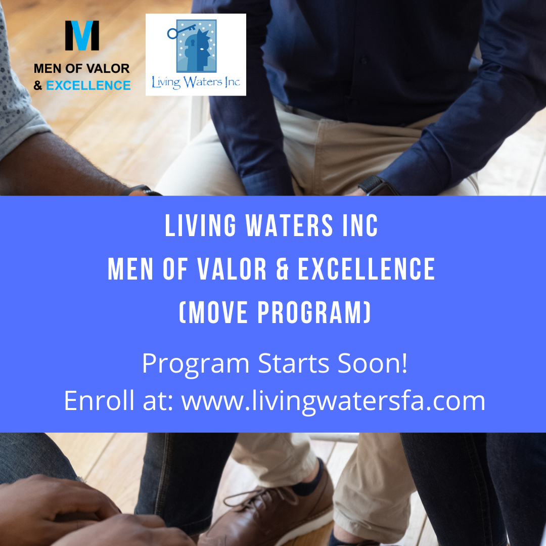MOVE Training Sessions -Men of Valor and Excellence